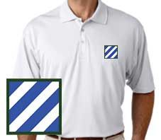 Army 3rd Infantry Performance Polo Shirt