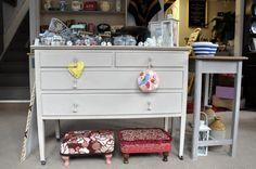 Junk n Disorderly, Llandrindod Wells, Powys, Wales. Wells, Dresser, Vintage Outfits, Retro, Furniture, Home Decor, Powder Room, Decoration Home, Room Decor