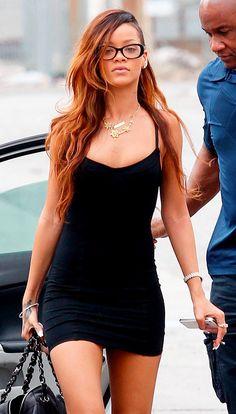 rihanna in black dress outfit Mode Rihanna, Rihanna Riri, Rihanna Style, Beautiful Black Women, Beautiful People, Looks Rihanna, Rihanna Outfits, Look Girl, Looks Vintage