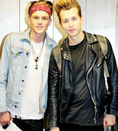 Tristan and James