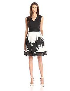 Taylor Dresses Women's Fit-and-Flare Scuba Dress, http://www.amazon.com/dp/B019YMPFJU/ref=cm_sw_r_pi_awdm_h4t3wb113WKRG