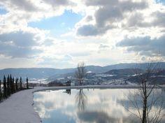 la meraviglia del lago ghiacciato!