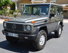 This 1990 Mercedes Benz 300GD is a short wheelbase version of the W463 chassis G-Klasse that features a 3.0L diesel six-cylinder, 5-speed manual, and full-time four-wheel drive. This example was imported from Spain and has 252k kms (~157k miles).