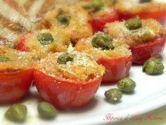 Italian food - Pomodorini gratinati