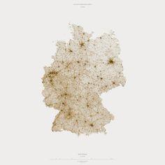 Muriz Djurdjevic & Thomas Paturet, Atlas of Infrastructure II - Western Europe, Atlas of Places - ATLAS OF PLACES