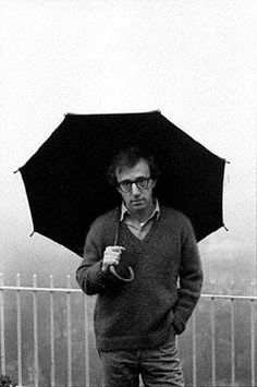 Woody Allen, New York, 1979.    Photo by Mary Ellen Mark