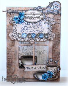 Heartfelt Creations   Cafe Window Card
