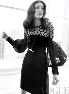Jacquelyn Jablonski | Photography by David Roemer | For Vogue Magazine Mexico | January 2013