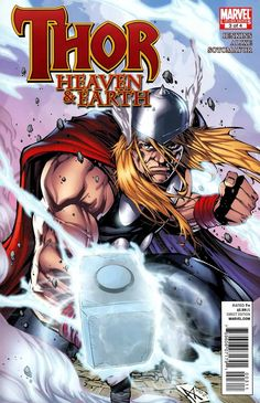 Thor: Heaven and Earth # 3 by Agustin Padilla