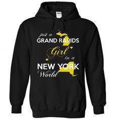 Just a Grand Rapids girl !!! - #tshirt organization #mens sweater. OBTAIN => https://www.sunfrog.com/States/Just-a-Grand-Rapids-girl-7464-Black-Hoodie.html?68278