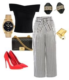 Designer Clothes, Shoes & Bags for Women Karen Millen, Miu Miu, Rolex, Chanel, Polyvore, House, Stuff To Buy, Shopping, Collection