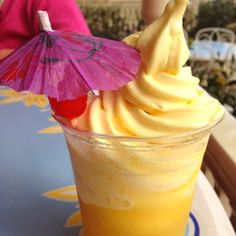 Dole Pineapple Whip, a Disneyland must have.