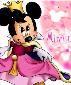 Princess Minnie Mouse Clipart - Clipart Suggest Walt Disney, Disney Magic, Disney Art, Minnie Mouse Pictures, Disney Pictures, Retro Disney, Disney Love, Mickey Mouse And Friends, Mickey Minnie Mouse
