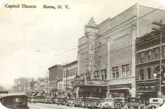 The Capitol Theater, Rome, NY (1928) - My high-school graduation was held here in 1984.