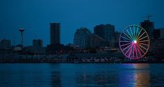 Seattle Great Wheel representing equality