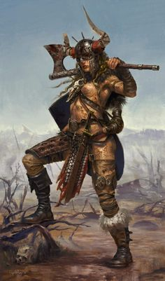 Random Fantasy/RPG artwork I find interesting,(*NOT MINE) from Tolkien to D&D. Warrior Girl, Fantasy Warrior, Fantasy Rpg, Medieval Fantasy, Fantasy Artwork, Dark Fantasy, Warrior Women, Fantasy Women, Fantasy Girl
