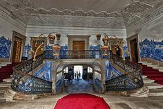 #Palace / Palácio da Brejoeira #interiors #Portugal