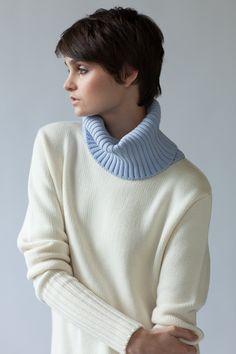 'Fraser Roll Neck' by Jude Australia, Australian Made in 100% merino wool http://www.judeaustralia.com/shop/ #wool #merino #AustralianMade #JudeAustralia #jumper #winter