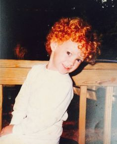 Redhead woman making young boy cum