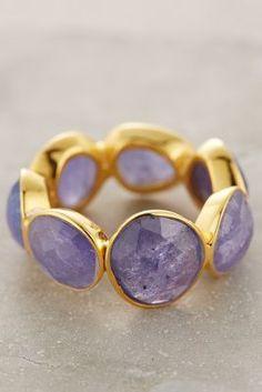 Anthropologie Rosecut Royalty Ring