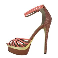 Seano - Γυναικεία πέδιλα Dumond από δερμα και φιδι, 105€ #giannakazakou Fashion Shoes, High Heels, Sandals, Zapatos, Shoes Sandals, High Heeled Footwear, High Heel, Sandal, Stiletto Heels