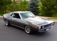 Silver Bullet: A Trans Am Inspired Pro Touring AMC AMX Javelin - Street Legal TV