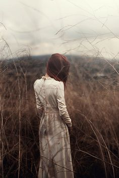 field vintage white dress