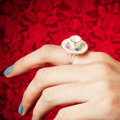 That Vintage Tea Party Ring.
