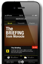 Monocle Website - love the layout of the magazine site