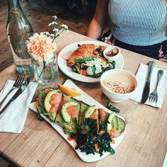 """256 Likes, 2 Comments - Le Pain Quotidien USA (@lepainquotidien) on Instagram: """"Take time this Thursday to enjoy every bite! Photo: @lyss.babe"""""""