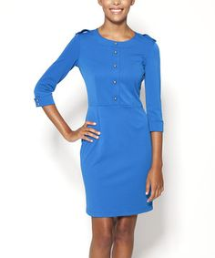 Look what I found on #zulily! Royal Blue Ludlow Dress by emploi New York #zulilyfinds