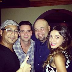 Fun time celebrating @Mix_Addict's bday last night with some of my faves@Suren_dipity @MarkSalling