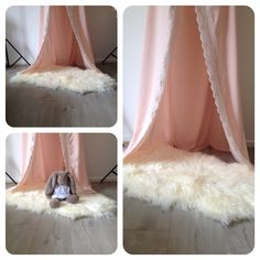 Love this set up for a wee lil lassie. So girly!!