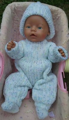 Your place to buy and sell all things handmade American Doll Clothes, Baby Doll Clothes, Double Knitting, Baby Knitting, Girl Dolls, Baby Dolls, Acrylic Wool, Baby Born, Knitted Dolls