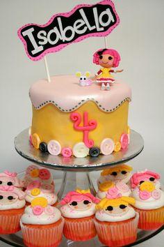 Lalaloopsy Cake  by Kool Kakes