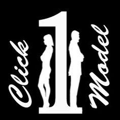 Click 1 model  Logo of the micro site community .. Visit click1model.com
