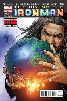The Invincible Iron Man #525 - The Future, Part 5: Beating Down the Transhuman Condition