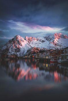 Henningsvær, Norway. #lofoten #norway