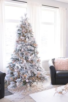 There's a flocked tree for every budget and style.  So whether you prefer skinny Scandinavian inspired trees or heavily flocked pines there's definitely a flocked tree for you.  Here are 9 of the best flocked Christmas trees available to shop this season.   JavaScript is currently disabled in this browser. Reactivate it to view this content.