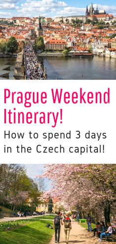 A Weekend in Prague: What to Do in Prague in 3 Days- Have only a few days to visit Prague? No worries, we've prepared the perfect Prague itinerary for you! Travel Info, Travel Articles, Travel Plan, Travel Tips, Travel Destinations, Travel Packing, European Travel, Travel Europe, Weekend In Prague