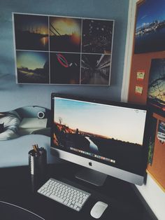 Scott Salter from Bristol, England shares his workspace.Desk by...