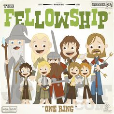 The Fellowship by Joebot