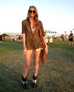 Street Fashion from Coachella - View Summer Fashion - ELLE