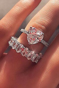 22 Best Heart Wedding Rings Images Wedding Rings Heart