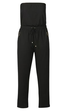 City Chic - JOGGER GIRL JUMPSUIT - Women's Plus Size Fashion