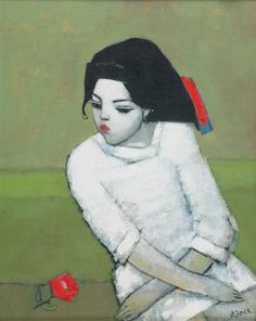 Endre Roder, Lizzie in White