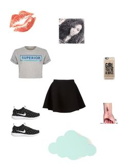 """""""Untitled #83"""" by alicelynch on Polyvore featuring Neil Barrett, Être Cécile, NIKE, Casetify and ferm LIVING"""