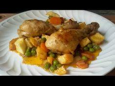 Pollo a la jardinera   Cocina
