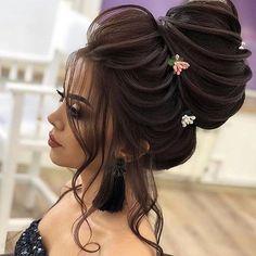 Untitled Bridal Hair Buns Bridal Hair Updo Hair Stayl