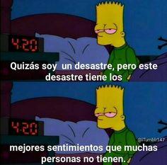 Es verdad Simpsons Frases, Sad Quotes, Love Quotes, Sad Wallpaper, Motivational Phrases, Sad Life, Sad Day, Spanish Quotes, The Simpsons